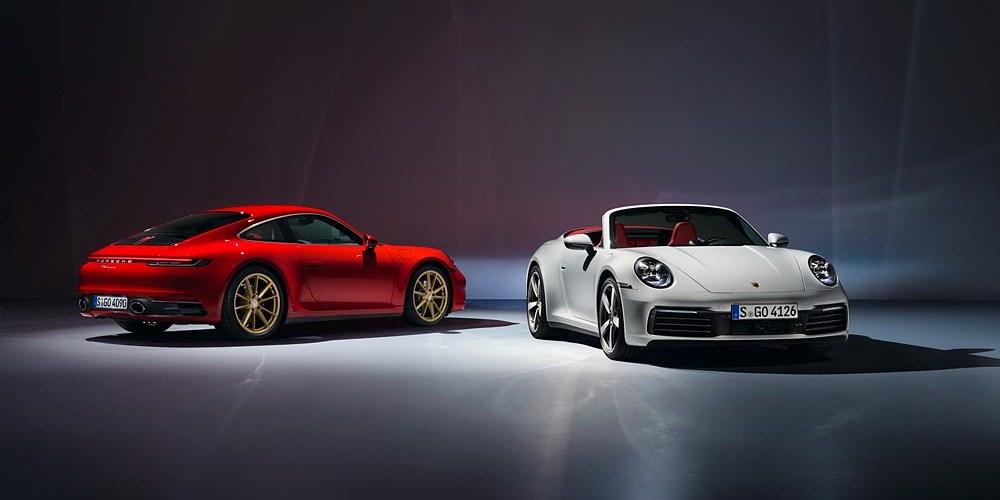 Porsche lanza el 911 Carrera Coupé y el 911 Carrera Cabriolet