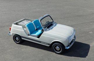 """Renault """"e-Plein Air"""" un auto retro basado en el 4L con un tren motor de Twizy"""