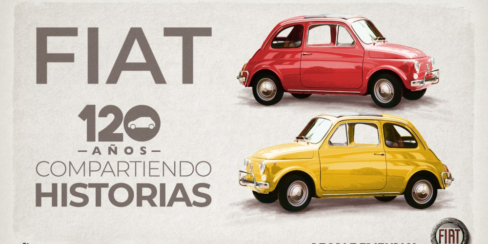 FIAT está de fiesta, cumple 120 años y en México lo celebramos
