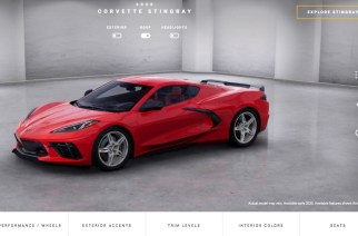 Corvette Visualizer, para configurar el nuevo Stingray