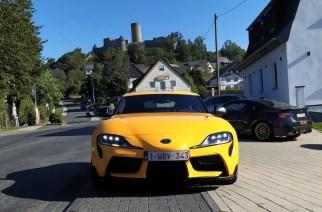 Probamos Toyota Supra en la Autobahn alemana