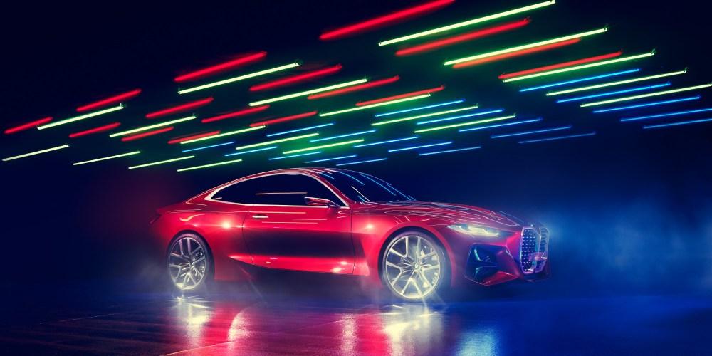 Concept 4 de BMW, diseño que resalta su historia
