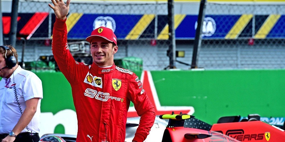 Leclerc llevó a Ferrari por la victoria en casa