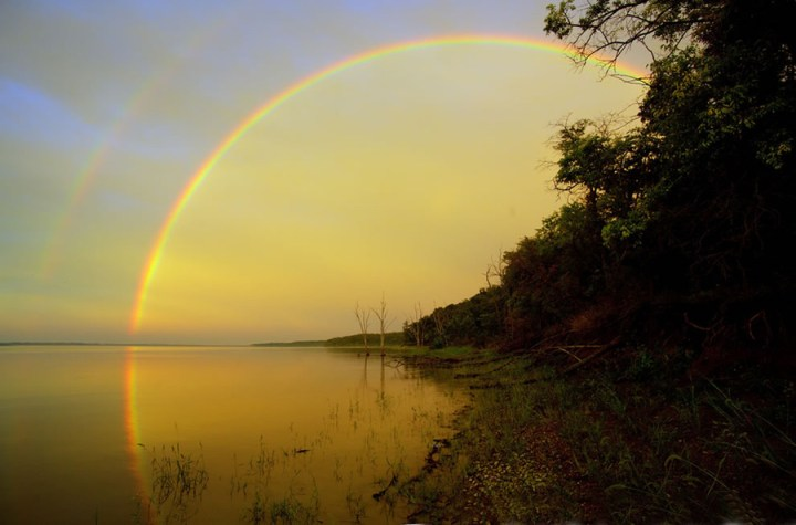 """The way I see it, if you want the rainbow, you gotta put up with the rain,"" ~ by Dolly Parton. Photo #14 by Patrick Emerson"