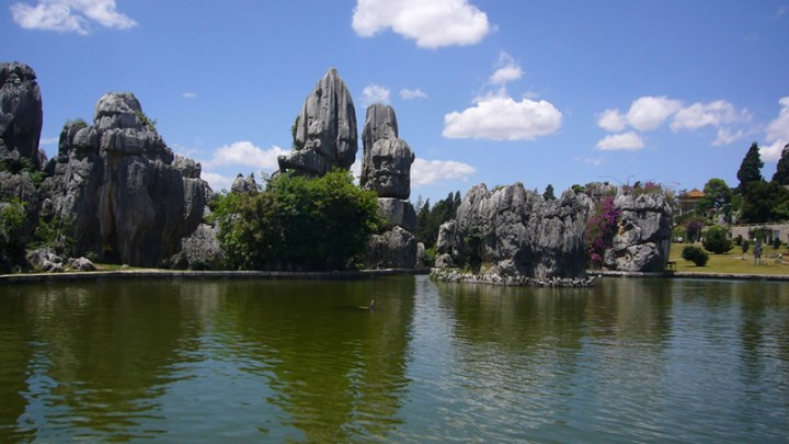 Stone-Forest-Pond-at-Shilin