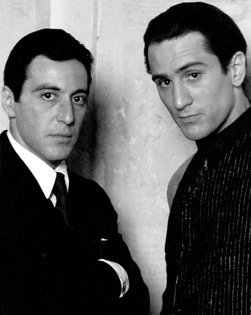 Al Pacino and Robery Deniro