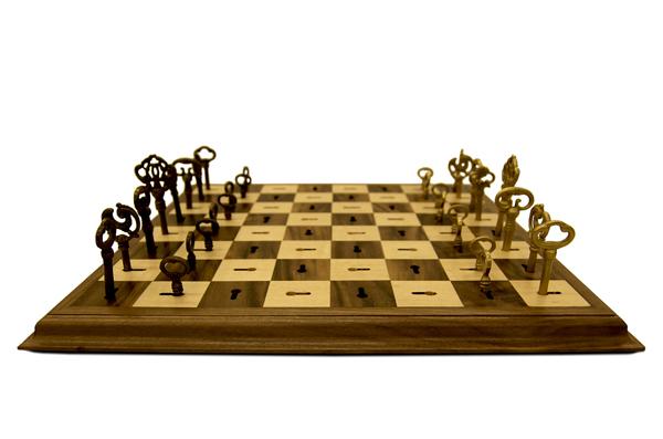 skeleton keys chessset Dave Pickett