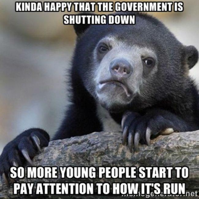 Government Shutdown S Saddest Photo Goes Viral: The Funnies Memes About The Government Shutdown (30