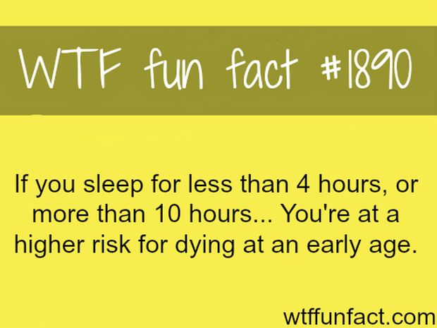 Funny facts about human body
