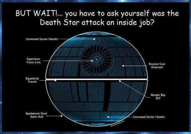 The Death Star Massacre Was An Inside Job 17 Pictures Memolition