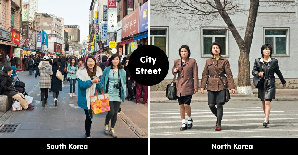 Differences Between North And South Korea Memolition