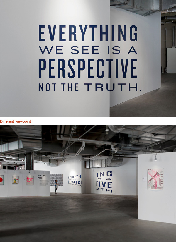 optical illusions typography awesome illusion using perspective cool crazy reality anamorphosis memolition typostrate forced op artists mind