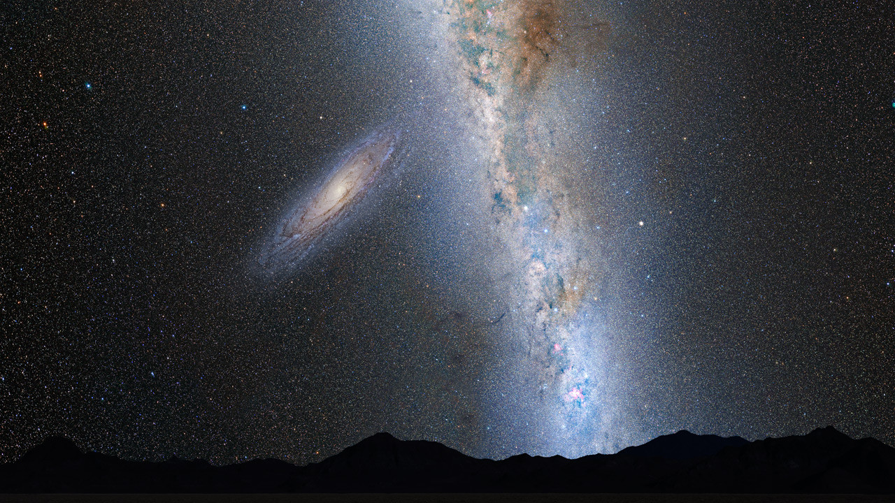 This Is How Our Night Sky Will Look Like When Milky Way ...