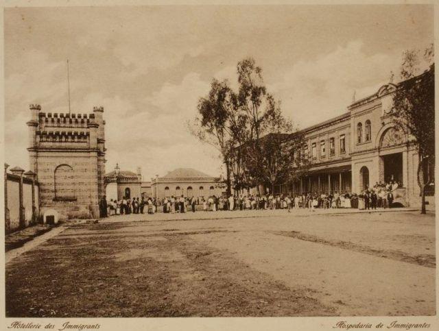 Fotografía 3 Hospedaria de Immigrantes en São Paulo (Álbum Vistas de São Paulo, circa 1900, pág. 5)