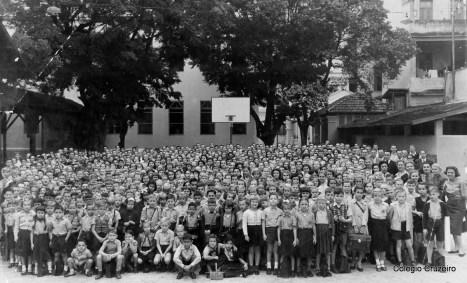 1952 - Todos os alunos do Colégio Cruzeiro