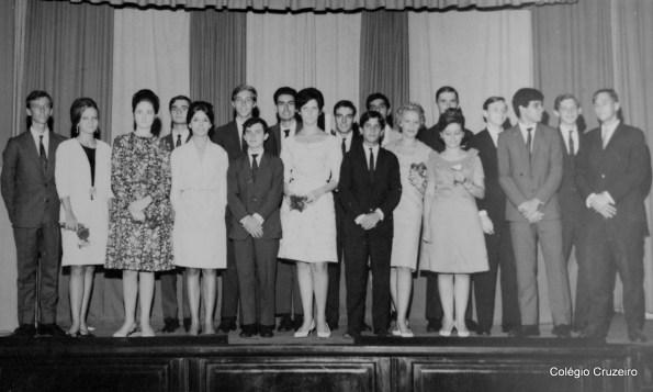 1965 - Formatura do 3º Científico