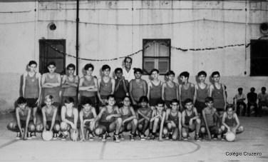 1968 - Competições esportivas em comemoração ao aniversário do Colégio Cruzeiro - Centro