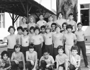 1982 - Turma de educação física do Colégio Cruzeiro - Centro