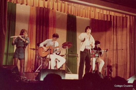 1983 - Festival de MPB realizado no Auditório do Colégio Cruzeiro