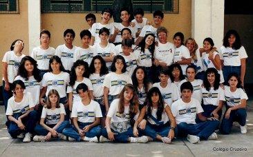 1991 - 7ª série do Colégio Cruzeiro - Centro