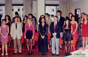 1992 - Formatura da Turma 300 do Colégio Cruzeiro - Centro