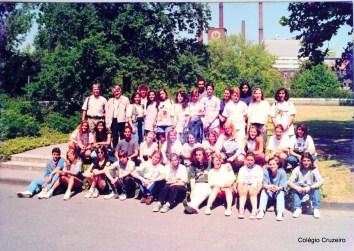1993 - Viagem de Estudos à Alemanha do Colégio Cruzeiro - Centro