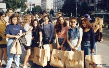 1994 - Viagem de Estudos à Alemanha do Colégio Cruzeiro - Centro