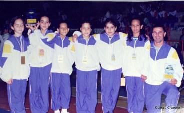 1995 - Seleção brasileira de trampolim