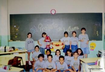 1998 - Projeto de leitura do Colégio Cruzeiro - Centro