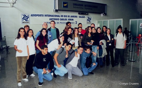 2000 - Viagem de Estudos à Alemanha do Colégio Cruzeiro - Centro