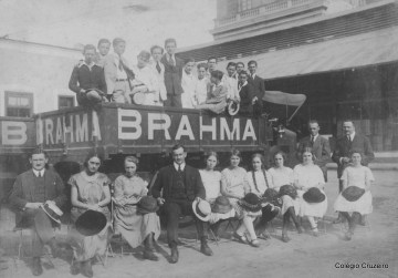 1921 - Passeio a Fábrica da Brahma