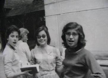 1959 - Edna Maria Brandão Villar, Bärbel Stellmann, Hiltrud Baudach e Lia Nazareth