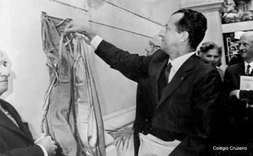 1962 - Inauguração da placa do centenário
