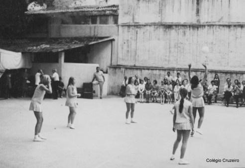 1968 - Competições esportivas no Colégio Cruzeiro - Centro