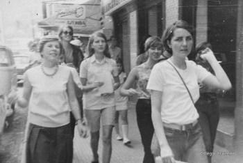 1968 - Dona Heidi e o Coro em viagem a Domingos Martins (ES)