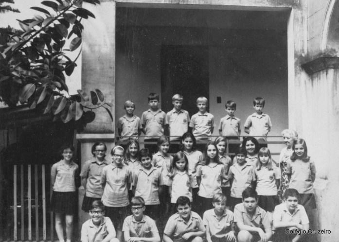 1969 - Turma de alunos do Colégio Cruzeiro - Centro