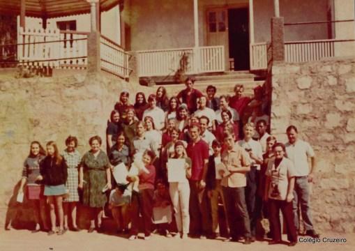 1970 - 2ª Viagem Cultural do Coro do Colégio Cruzeiro - Centro ao interior do Espírito Santo