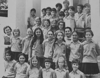 1971 - 5º ano do Ensino Fundamental do Colégio Cruzeiro - Centro