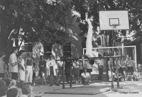 1971 - Apresentação de Ginástica Olímpica