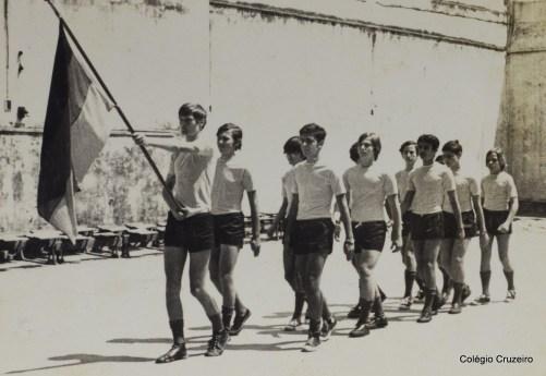 1971 - Jogos Olímpicos no Colégio Cruzeiro - Centro