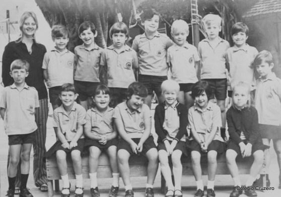 1971 - Turma de 1º ano do Ensino Fundamental do Colégio Cruzeiro - Centro