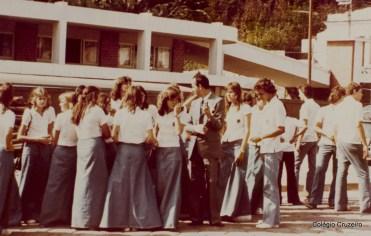 1974 - Coro do Colégio Cruzeiro - Centro em Friburgo
