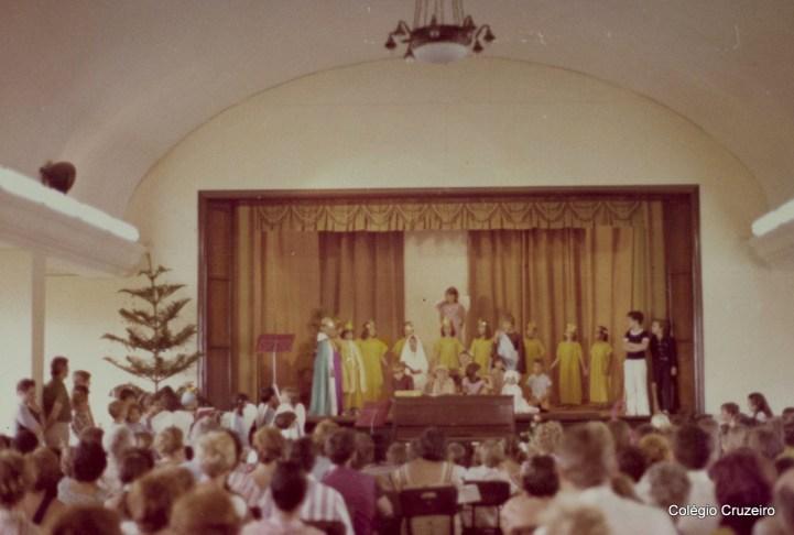 1976 - Festa do advento no Colégio Cruzeiro - Centro