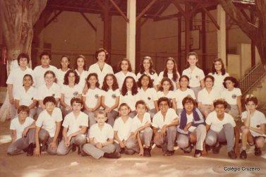 1979 - Foto de turma do Colégio Cruzeiro - Centro