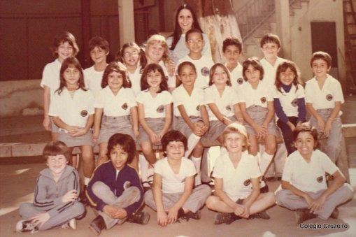 1979 - Foto de turma do Colégio Cruzeiro