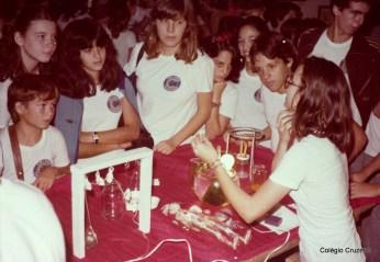 1981 - Apresentação na Feira de Ciências