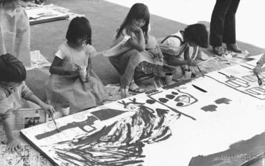 1982 - Pintura do muro