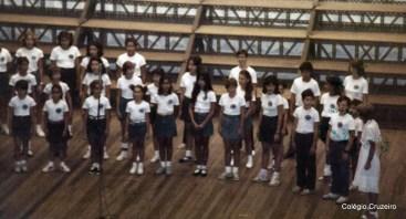1984 - Participação do Coro no 9º Concurso de Corais do Jornal do Brasil