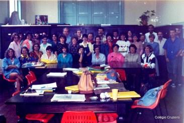 1987 - Corpo docente