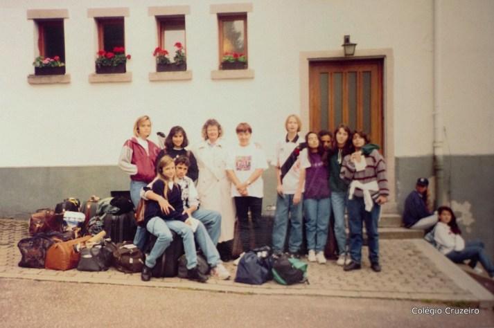 1993 - 1ª Viagem de Estudos à Alemanha do Colégio Cruzeiro - Centro